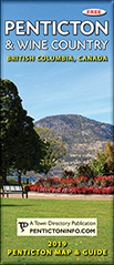 2019 Penticton Map Cover